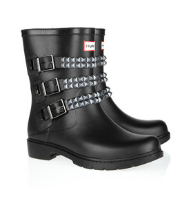 These are too cute to even be rainboots. Thank you Hunter for creating something beyond wellies.  Hunter Festival stud-strapped Wellington boots