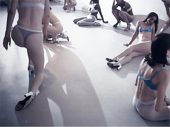 "The art: Vanessa Beecroft, VB 31 Performance, 1998.  The news: ""What the US Can — and Can't — Learn from Israel's Ban on Ultra-Thin Models,"" by Talya Minsberg for TheAtlantic.com. The source: Collection of the Fotomuseum Winterthur."