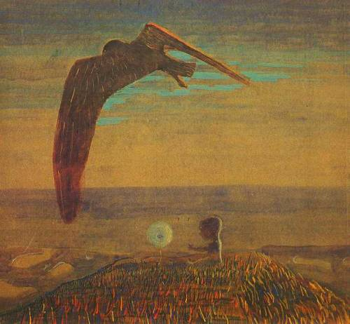 poboh:  Fairy-Tale. Journey of the Princess II, Mikalojus Ciurlionis Lithuanian Painter and Composer (1875 - 1911)