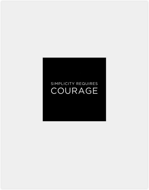 simplifyyourlife:  Have courage to let go or move on.