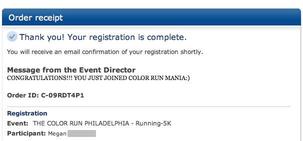 The Color Run || Philadelphia! It's official!