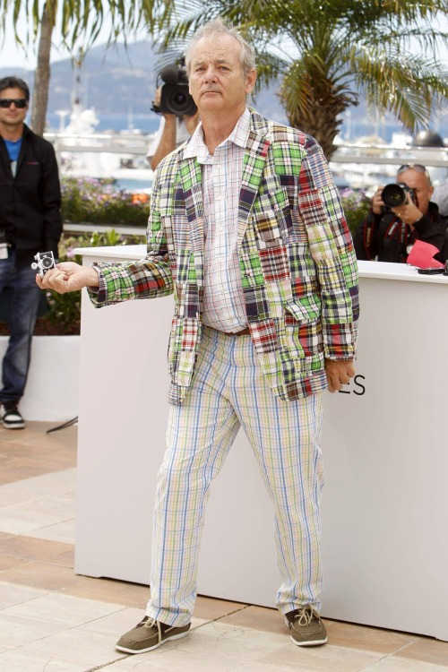 Sorry For Party Rocking.Bill Murray en Cannes. Esto ya está en marcha. Y os lo estamos contando.