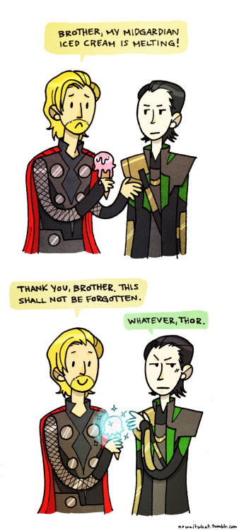 nowaitwhat:  it's not all bad being a frost giant