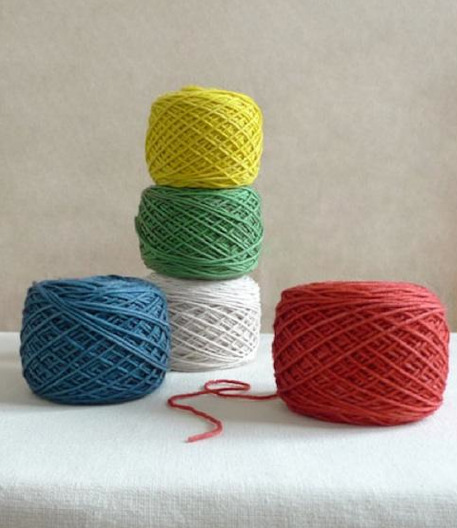 Anzula's For Better or Worsted hand-dyed blanket yarn