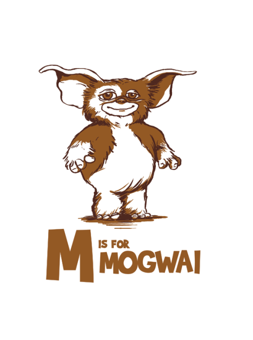 M is for Mogwai
