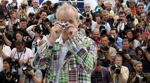 cinemastatic: Bill Murray at Cannes