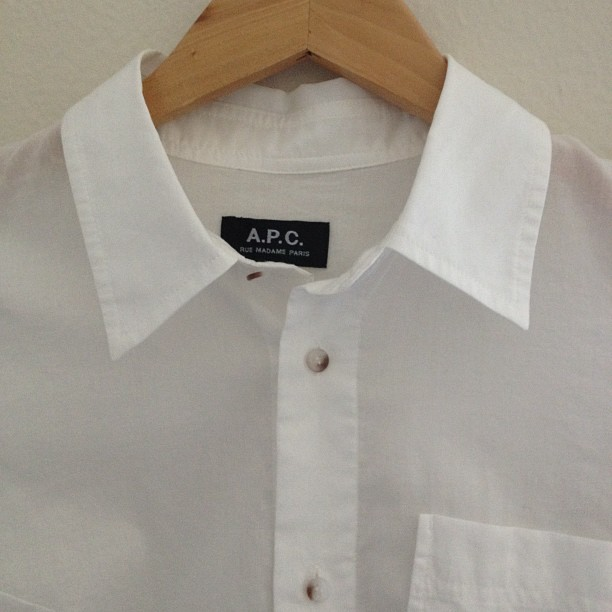 theepitomeofsimplicite:  The perfect white shirt!