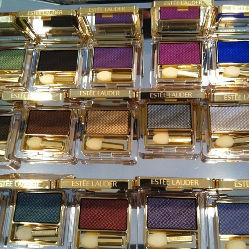 Hypnotized by these Estée Lauder textured shadows (out August) Photographed by Jane Shin Park