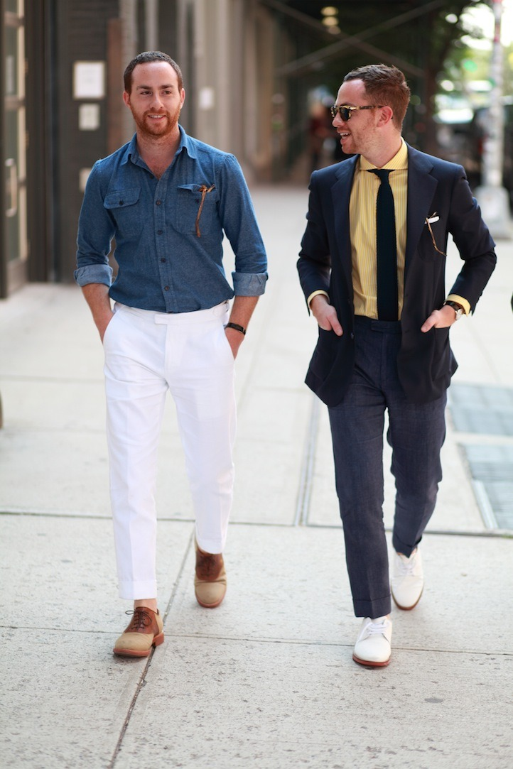 plaintshirt:  S/S Inspiration These looks are perfect examples of Spring/Summer comfort.  Ovadia brothers are always killing it.