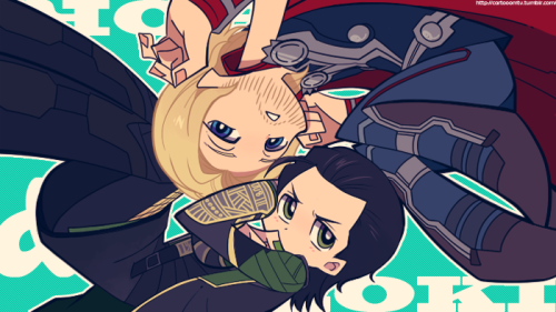 Avengers :: PSG style ThorKi by ~LP-Y