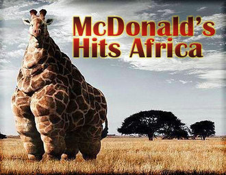 McDonalds hits Africa……. by ~Stephey