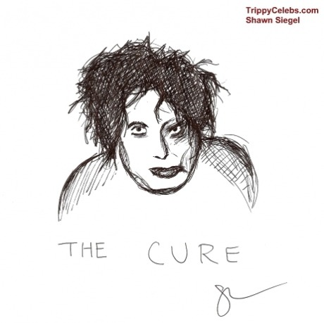 (The Cure via TrippyCelebs.com)