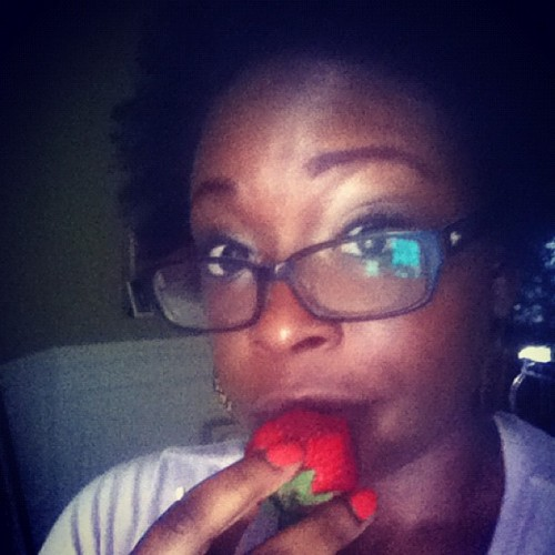 Day 135: Berry Love #mayphotoaday #photoaday #day135 #2012 #365 #love #fruit #gpoy (Taken with instagram)