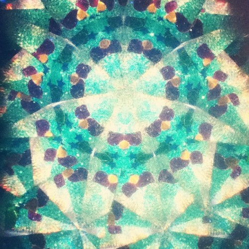 #kaleidoscope #pretty #colors #prettycols (Taken with instagram)