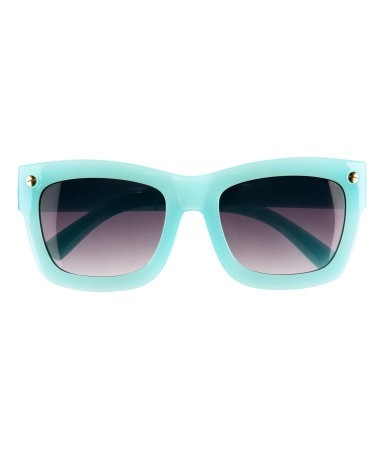Sunglasses in my favorite color!