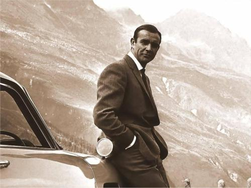 Not much is cooler than Sean Connery as James Bond.  When I was a kid living in London all the Sean Connery and Roger Moore 007 movies would come on every Wednesday night.  To this day I wish I could live the life of James Bond and drive a classic Aston Martin.