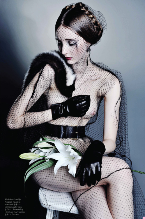 """A God in an Alcove"" (+) Black Magazine #15, Winter 2011 photographer: Thom Kerr Codie Young"