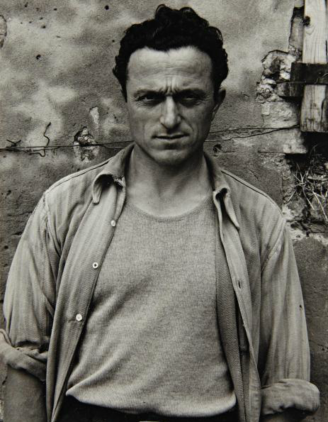 Young Farmer, Po Valley, 1953 Paul Strand