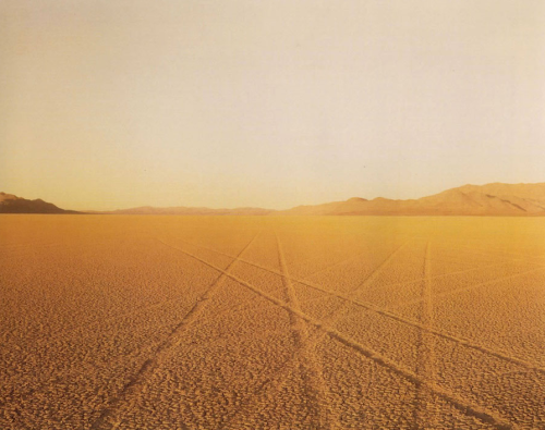 mpdrolet:  Tracks, Black Rock Desert, NV 1987 Richard Misrach