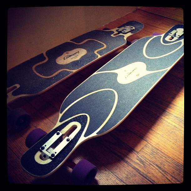 Shipping off to #boston with these bad boys from @Loaded_Boards. #longboard #longboarding #dervish #sama #tantien  (Taken with instagram)