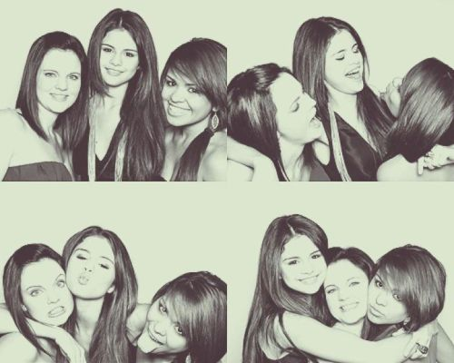 biebergomezhomies:  Ashley, Selena and Priscilla