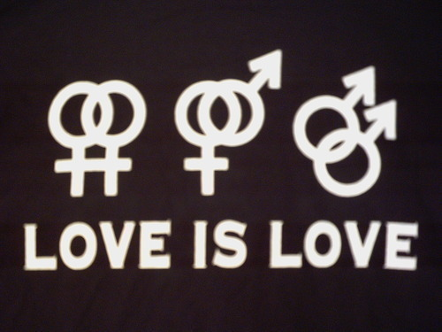 Love is love. Set your mind and your heart free. Allow true happiness and true love to radiate around and within you, your friends, and your neighbors. For life is too precious for hatred and self-righteousness.