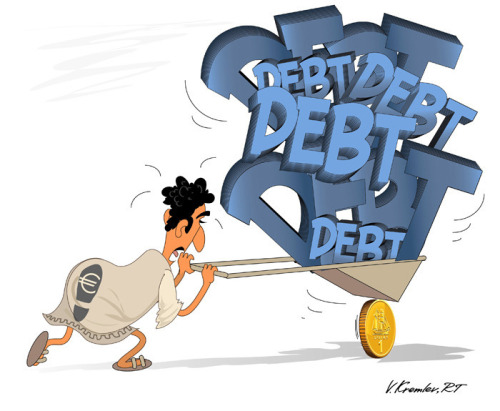 #Greece #debt crisis out of control. Will they they leave the #EU?