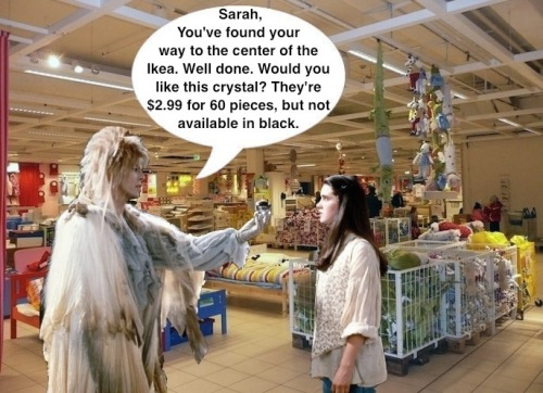 Labyrinth 2: Ikea