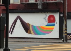 webuiltthiscity:  New mural on Bryant at 24th  SO AWESOME.