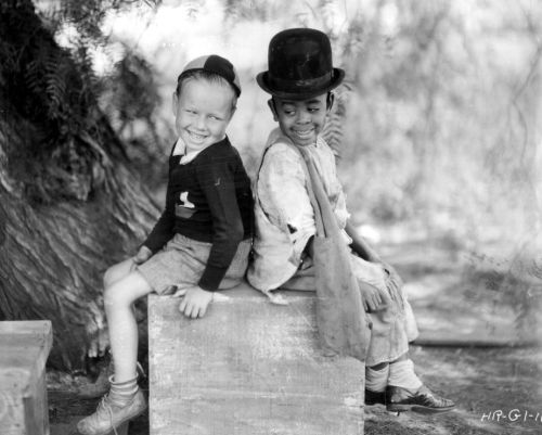 Wheezer and Stymie - c. early 1930s I just got the Our Gang boxset - 87 episodes!! - and can't stop watching it - genius!!