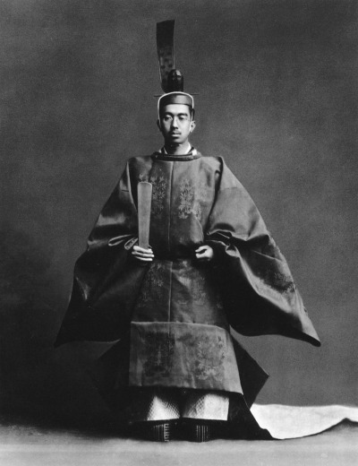 legrandcirque:  Emperor Shōwa of Japan after his enthronement ceremony, 1928. Thank you legrandcirque  & de-salva