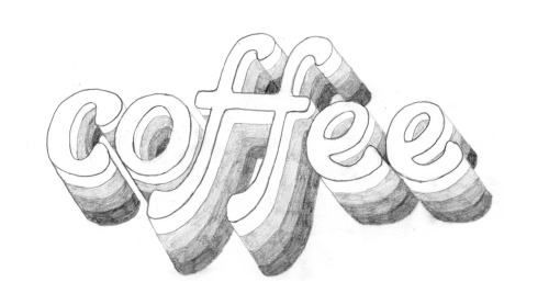 Day 93: Coffee. Pencil sketch.