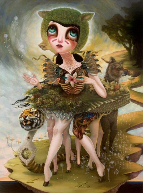 ARTIST SPOTLIGHT  Creature of Saintly Disguise Jennybird Alcantara For new art and artist daily follow us at: http://ar-tx.tumblr.