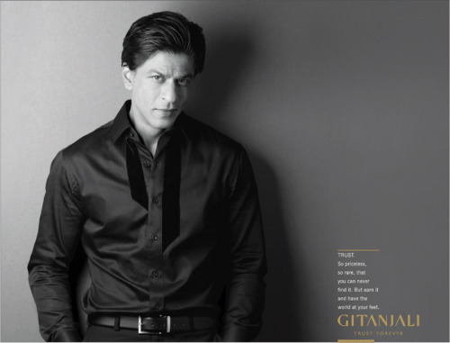 Shah Rukh Khan for Gitanjali
