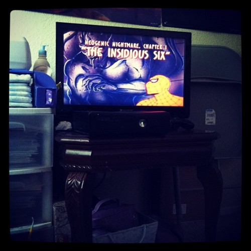 #spiderman #90s #bestshow (Taken with instagram)