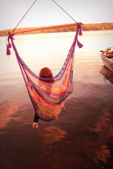 this is greattt. need a hammock like this.