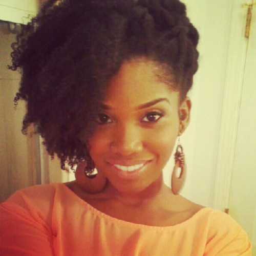 GIVE. ME .MY. HAIR. PLEASE.  apartment214:  Cute style #naturalhair #naturalhairjourney #natural #beautiful #blackgirl (Taken with instagram)