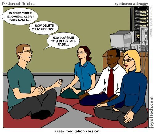 ircimages:  Geek Meditation