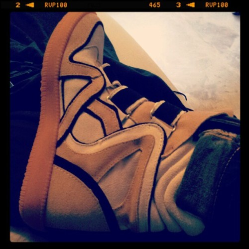 My new baby sneakers from Isabel Marant <3 (Pris avec instagram)