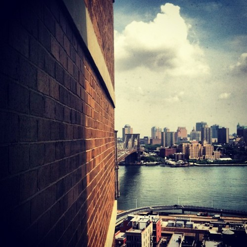 #brooklynbridge #chinatown #shadows #nyc (Taken with instagram)