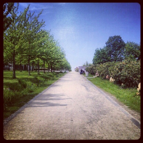 Sunny day in Rennes. #France #Rennes #sunny (Taken with instagram)