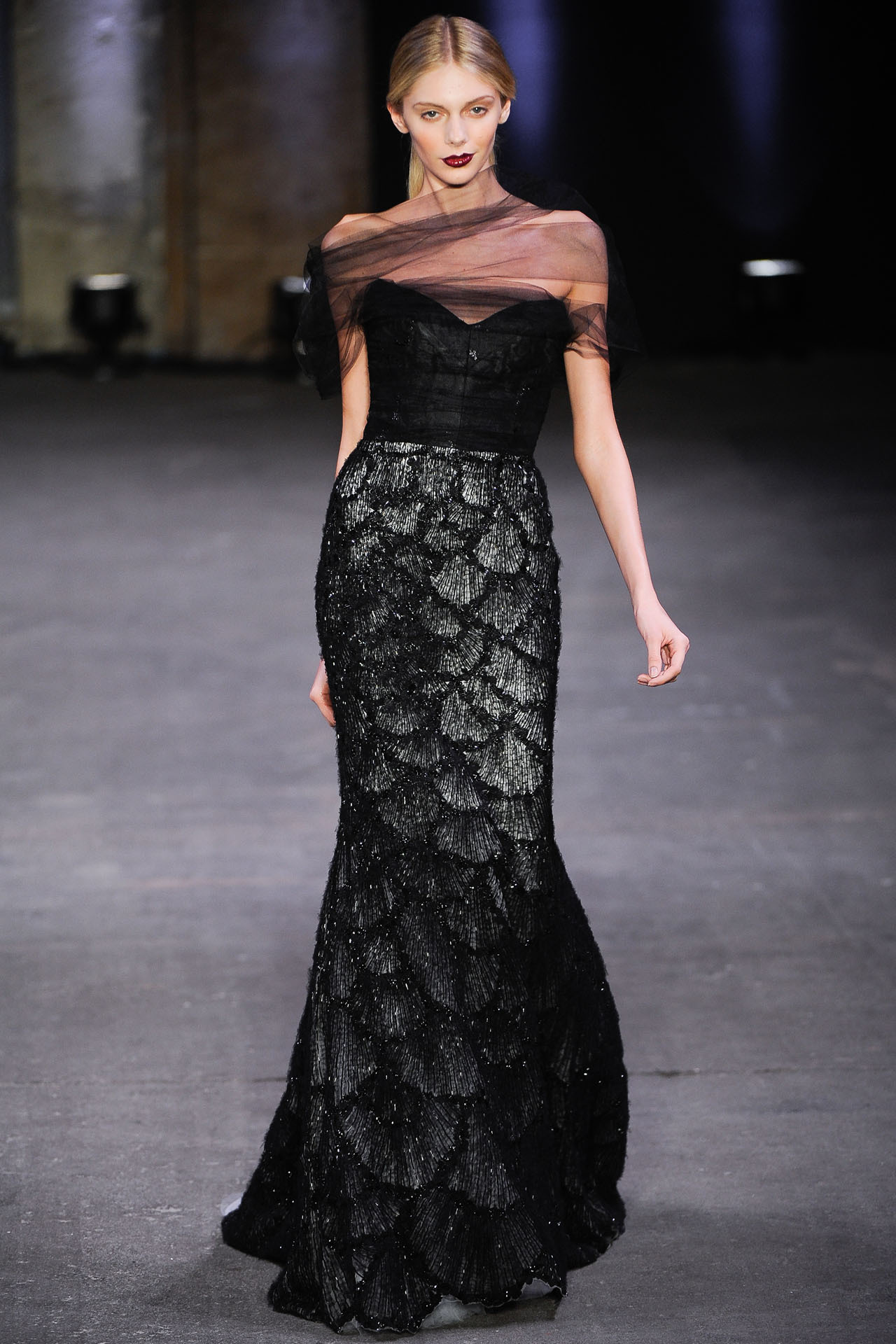 aclockworkpink:  Christian Siriano F/W 2012, New York Fashion Week