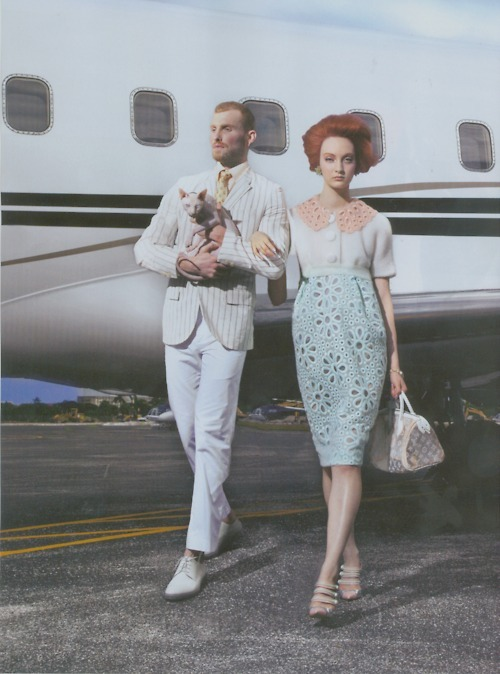 "Codie young in Vogue Italia May 2012 ""fly high"""