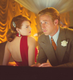 Gangster Squad - Emma Stone & Ryan Gosling (Grace Faraday & Sgt. Jerry Wooters) , 2012