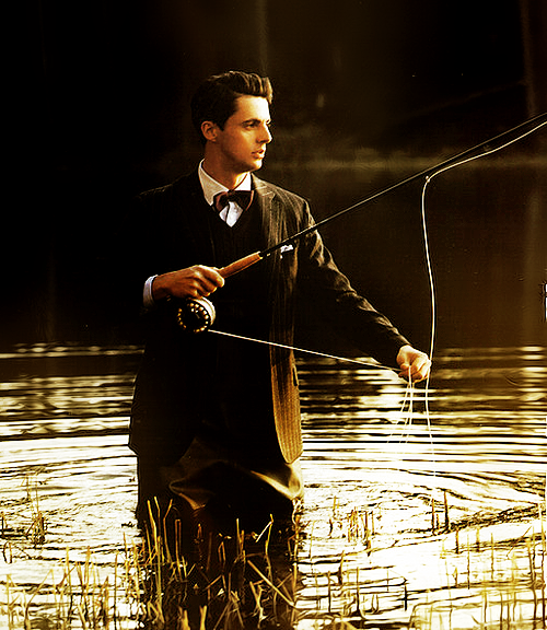 a-sensible-heart:  Fishin' like a sir.