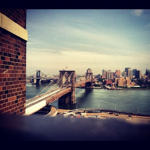 #twobridges #dtmanhattan #nyc  (Taken with instagram)