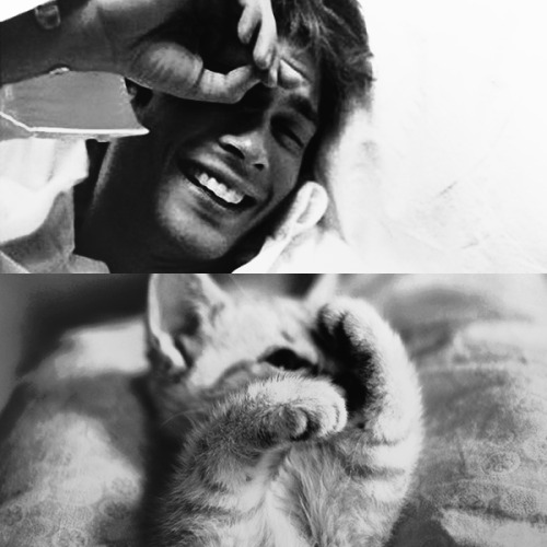 Who's cuter? Ian or Kitty?