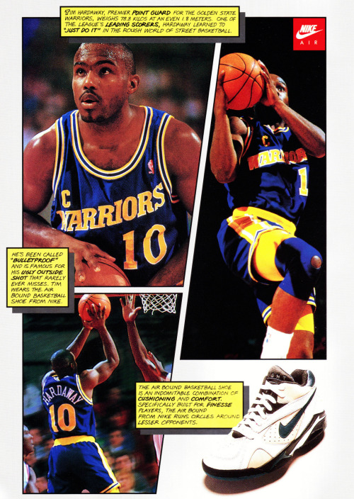 johngotty:  Tim Hardaway x Nike Air Bound.