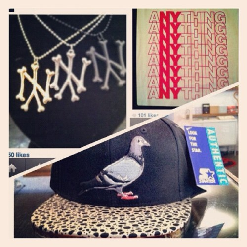 Recent #ny themed snapshots from #instagram #swag (Taken with instagram)