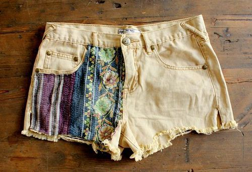 cisforcreate:  DIY: Update Your Cutoffs | Free People Blog